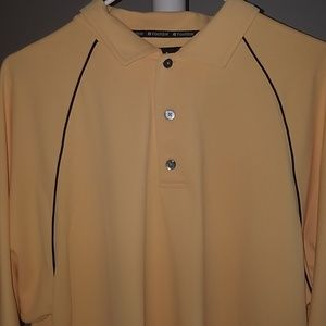 Footjoy silly golf polo yellow size large